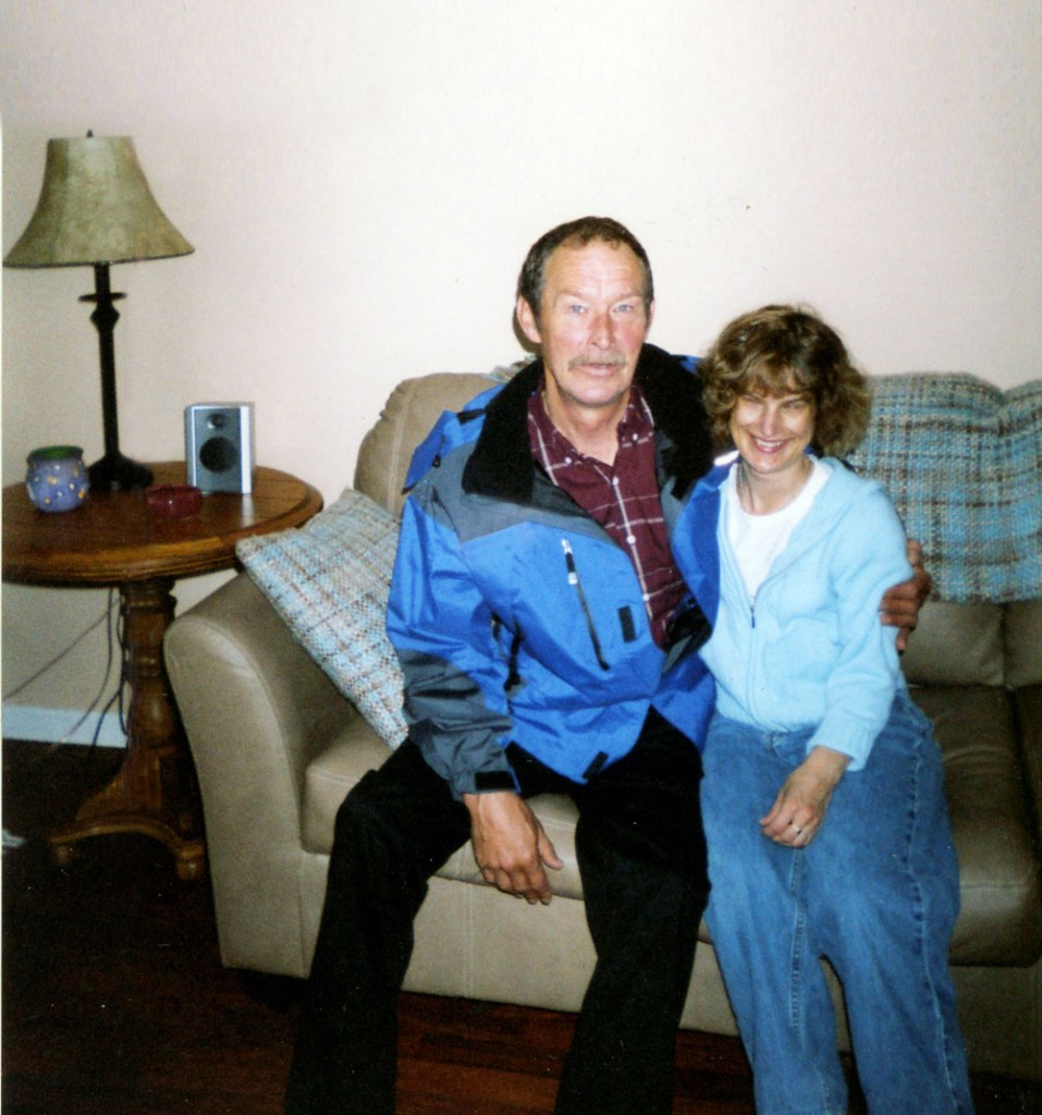 Holly and her father Wayne Bartlett