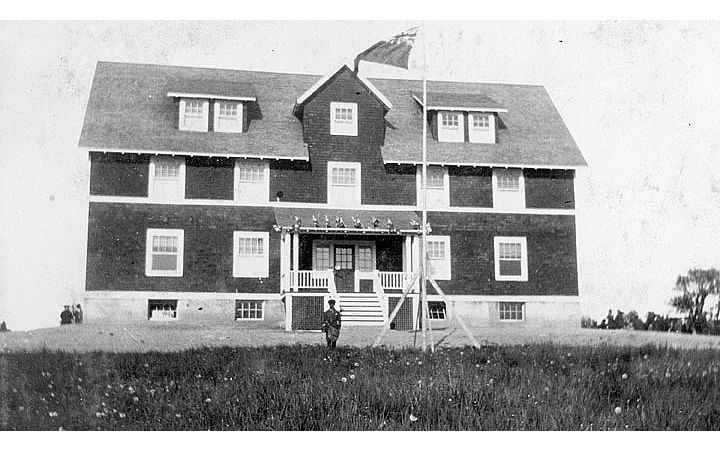 The Home for Colored Children, in 1921. Photo: NS Archives