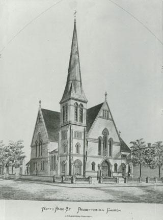 The North Park Street Presbyterian Church. Photo: NS Archives