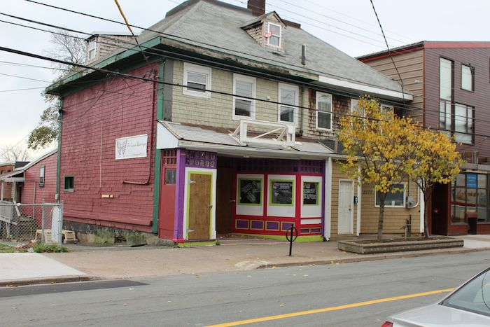 The city has condemned this rooming house at 2179 Gottingen Street. Photo: Halifax Examiner