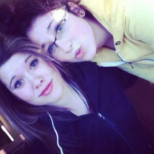 Ashley MacLean-Kearse (left) and Rehtaeh Parsons.