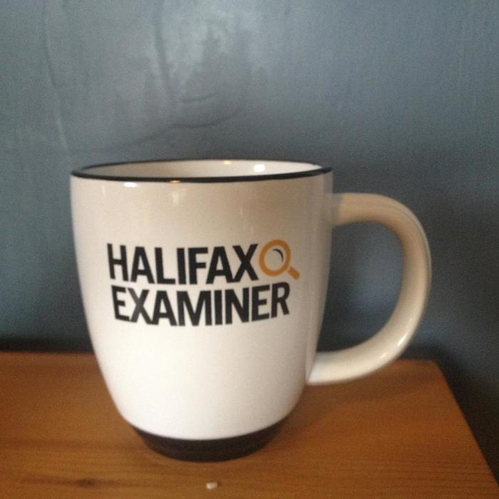 Examiner coffee cup