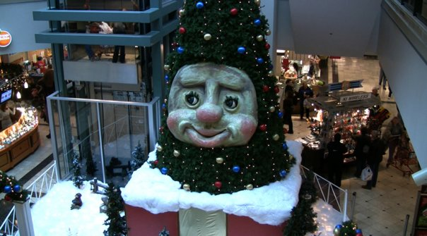 woody the talking christmas tree - Christmas Animatronics
