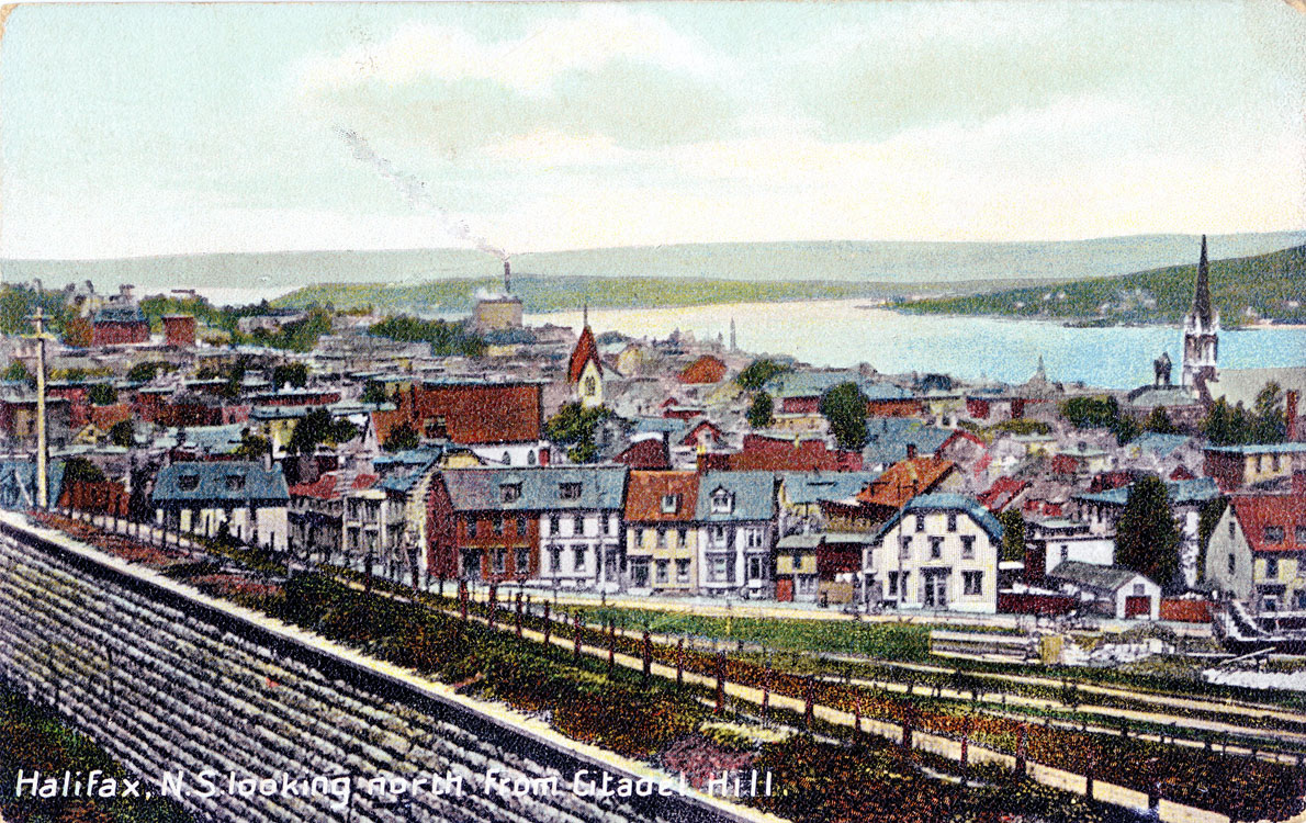 1909, roughly the same view as above. Source: Dalhousie Repository
