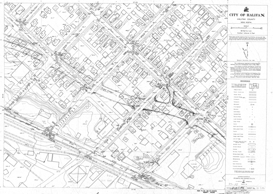 The Robie Street Extension, as envisioned in 1962.