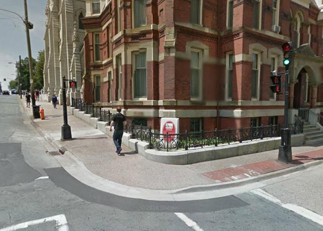 Barrington Street at Spring Garden Road. Google Street View.