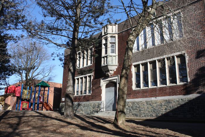 The city has spent over !75,000 maintaining the empty Bloomfield school site as the province tries to get its act together to redevelop the property. Photo: Hilary Beaumont
