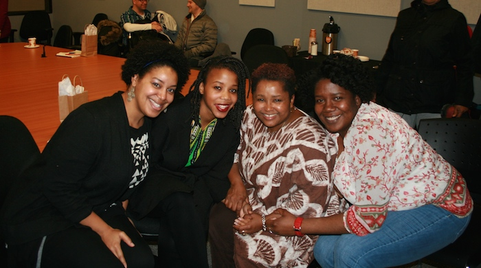 Left to right, Stephanie Bizzeth, Ntombi Nkiwane, Barb Hamillton-Hinch, Crystal Watson. Not pictured, Kesa Munroe-Anderson. Photo: Moira Donovan