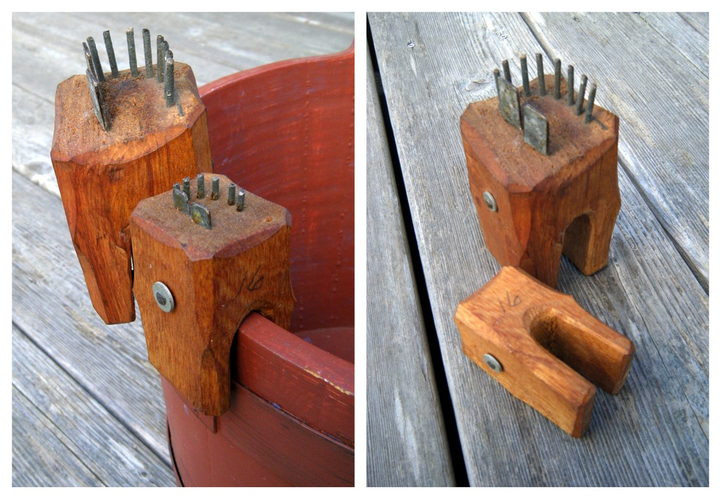 Hook straighteners. Photo: Stephen Archibald