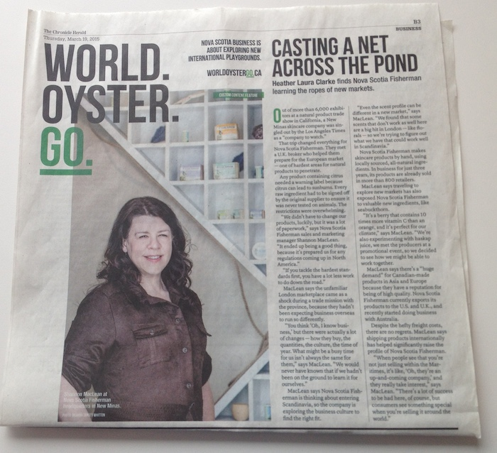 "Viral News And Advertorial Writer: ""Anti-journalism"": The Chronicle Herald's World.Oyster.Go"