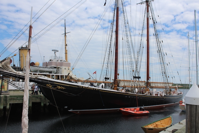 The Ship of Theseus is in port. Photo: Halifax Examiner