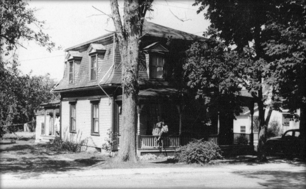 The Archibalds' summer cottage in Bridgetown. Photo: Stephen Archibald