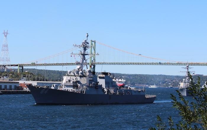 USS Bulkeley. Photo: Halifax Examiner
