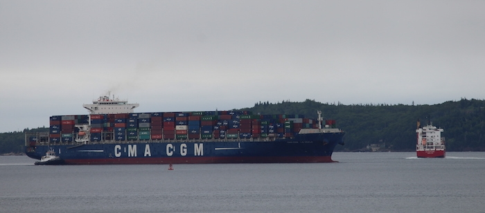 CMA CGM La Scala. Photo: Halifax Examiner