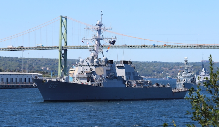 USS Gonzalez,. Photo: Halifax Examiner