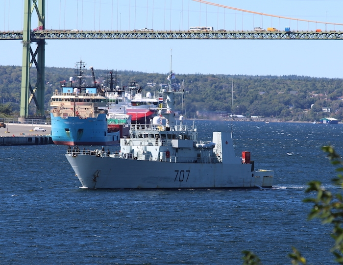 HMCS Goose Bay. Photo: Halifax Examiner