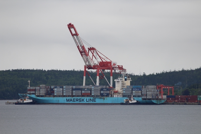 Maersk Pembroke. Photo: Halifax Examiner