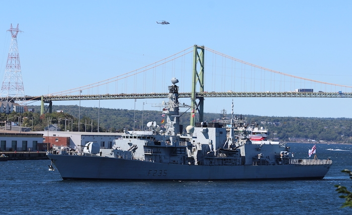 HMS Monmouth. Photo: Halifax Examiner