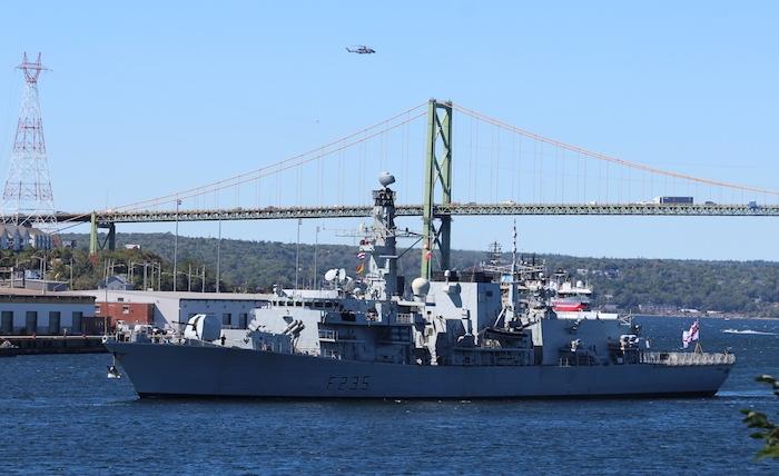 HMS Monmouth. Photo: Halifax Examiner