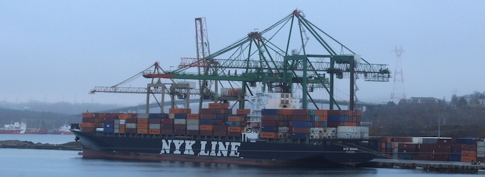 NYK Diana. Photo: Halifax Examiner