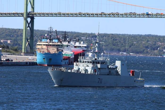 HMCS Summerside. Photo: Halifax Examiner