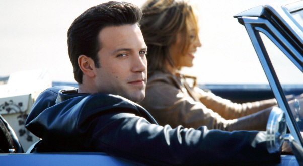 Ben Affleck and Jennifer Lopez on their way to Cormier's Service Station in Cheticamp.