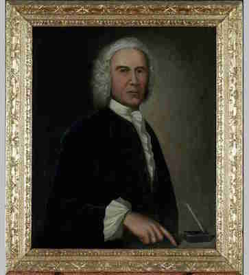 Something like democracy came to Nova Scotia by royal decree, ironically. Photo is of the painting of Charles Lawrence at Province House.
