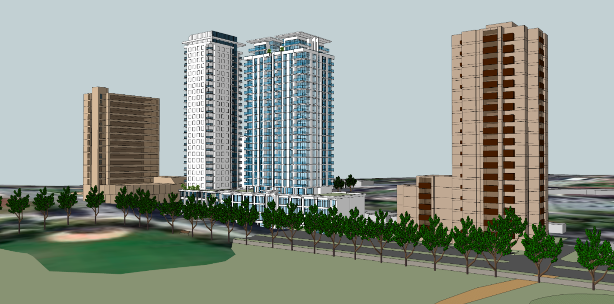 Danny Chedrawe's proposed 24-storey building.