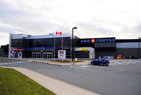 That four-pad arena with the name of a fucking bank plastered on it. Photo: hellohalifax.ca