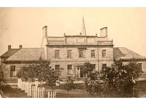 Dalhousie College. Photo: Nova Scotia Museum