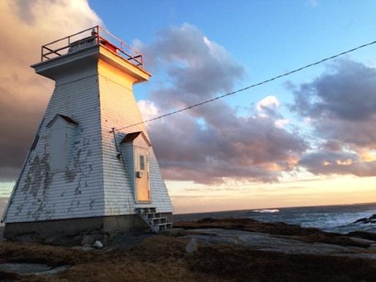 The Terrance Bay Lighthouse
