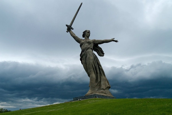 The Motherland Calls, Volgograd, Russia.