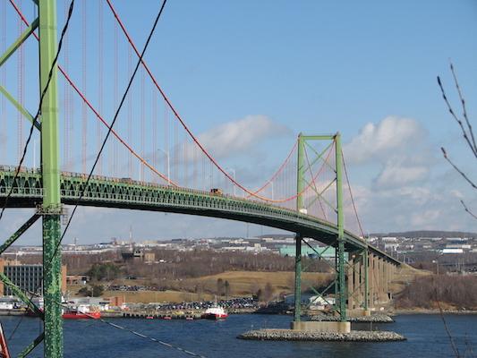 Happy birthday MacKay Bridge! Photo: wikipedia