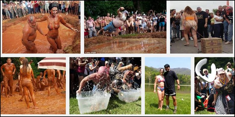 """""""Redneck competition"""" photos from Google, collected by Timothy Gillespie."""