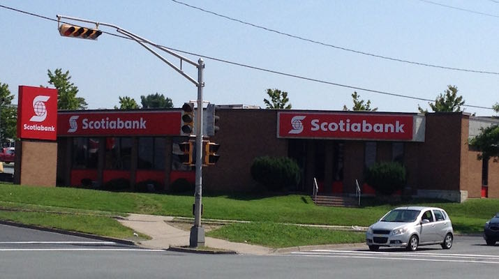 Scotiabank is branding a part of the old Dartmouth Common. Photo: Halifax Examiner