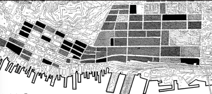 In the black squares, 30% or more of dwellings lack indoor washrooms