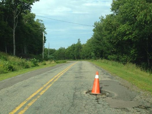 Image from Potholes of Inverness County.