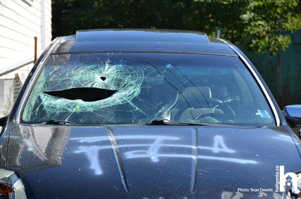 image of car WITH SWASTIKA from haligonia