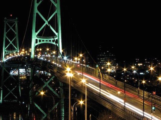 Macdonald Bridge. Photo: Mike Hall, via trekearth.com