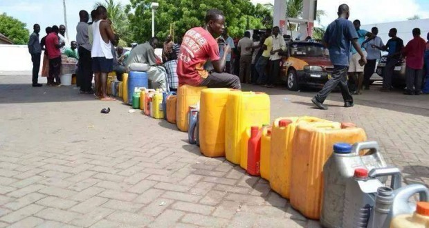 People in Accra, Ghana are experiencing a fuel shortage this week. Unlike in Nova Scotia, their government is doing something about it. Photo: citifmonline.com/