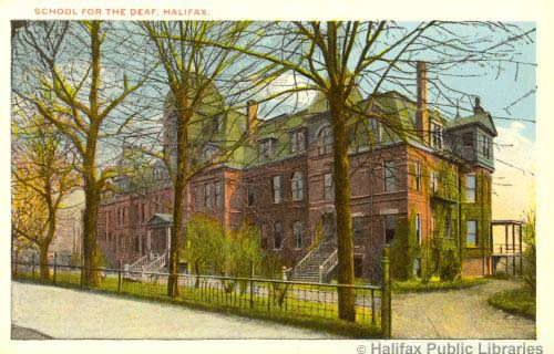 The Halifax School for the Deaf was at the southeast corner of Gottingen and Prince William Streets. Photo: Halifax Public Library