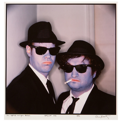 Annie Leibovitz's Blues Brothers photo will supposedly one day be displayed at the Art Gallery of Nova Scotia.