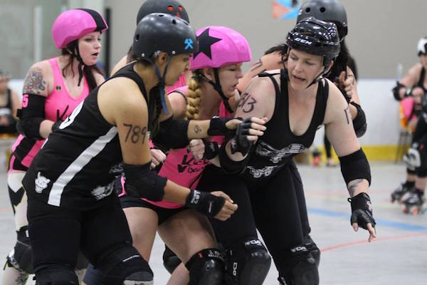 Halifax's Anchor City Rollers are legally bad ass.