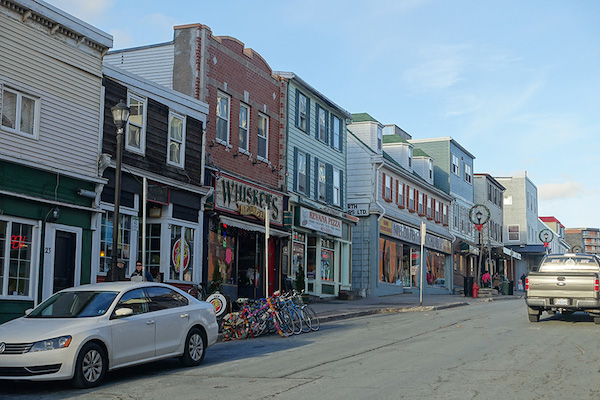 Portland Street, downtown Dartmouth. Photo: Sam Austin