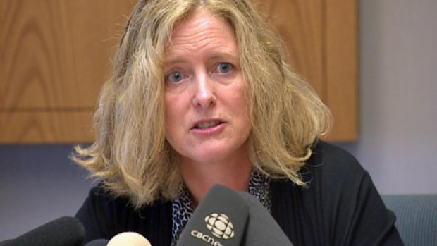 New Brunswick's chief medical officer of health, Eilish Cleary. Photo: CBC