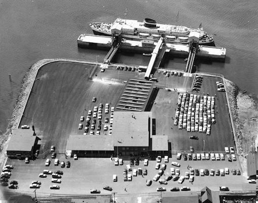 Yarmouth ferry terminal. Photo: dsra.com