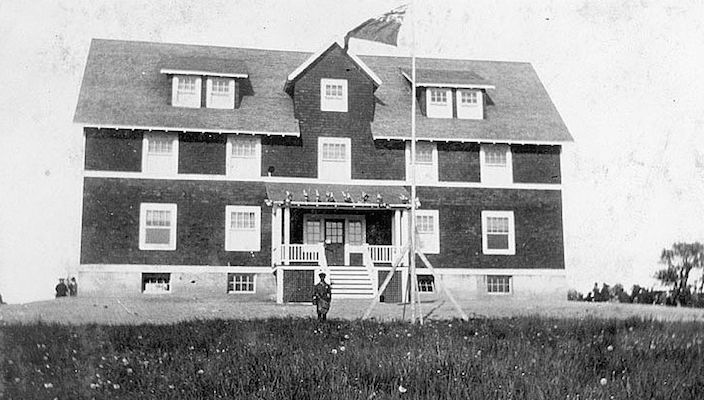 Image of the Nova Scotia Home for Coloured Children from the Nova Scotia Archives