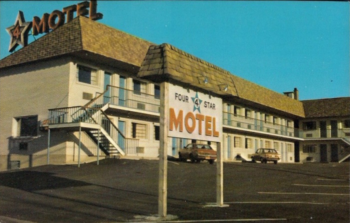 The Four Star Motel.