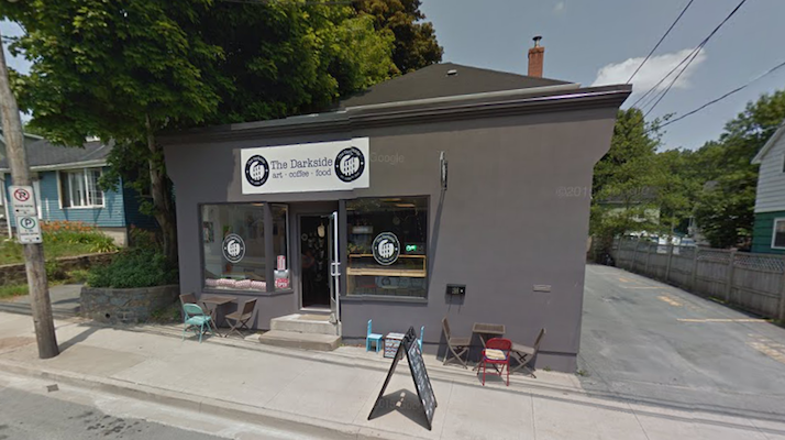 The Darkside Cafe. Photo: Google Street View