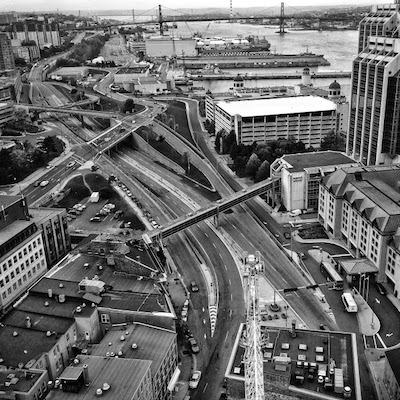 Cogswell interchange. Photo: unfocusedphotos.com